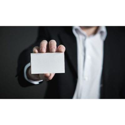 Get noticed with Shiny Business Cards