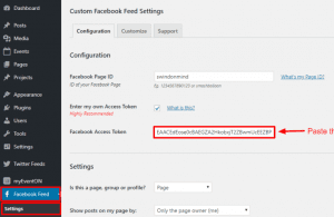 How to link to your Facebook page?