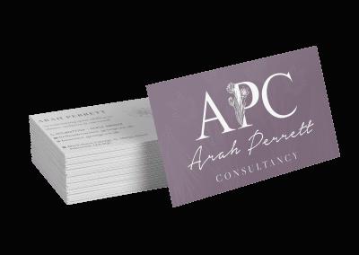 Arah Perrett Business Cards