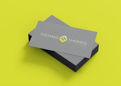 Thomas & Thomas Business Cards