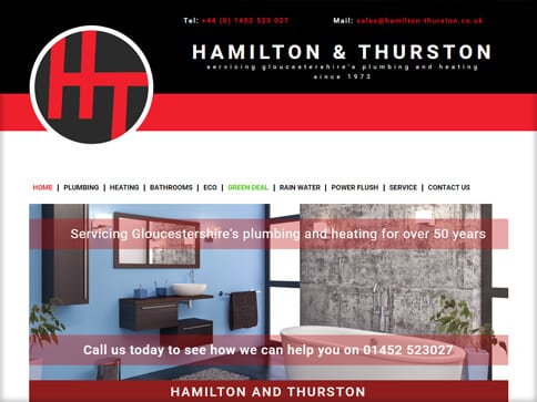 Hamilton and Thurston