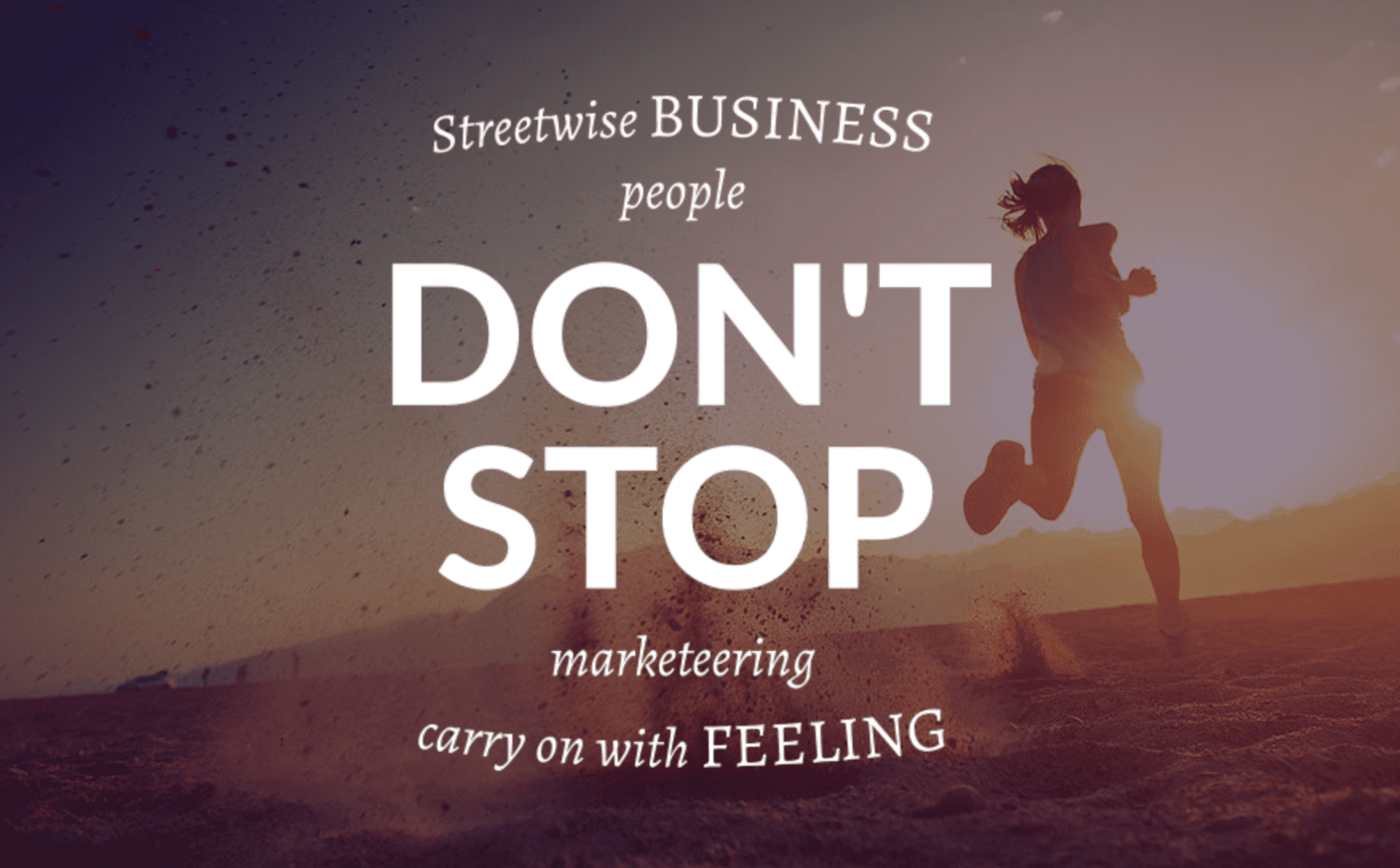 Don't Stop Graphic