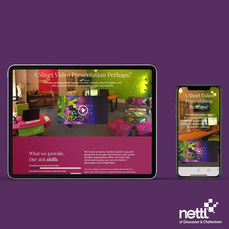 Pay-Monthly Website, Pay-Monthly Website, Nettl of Gloucester & Cheltenham