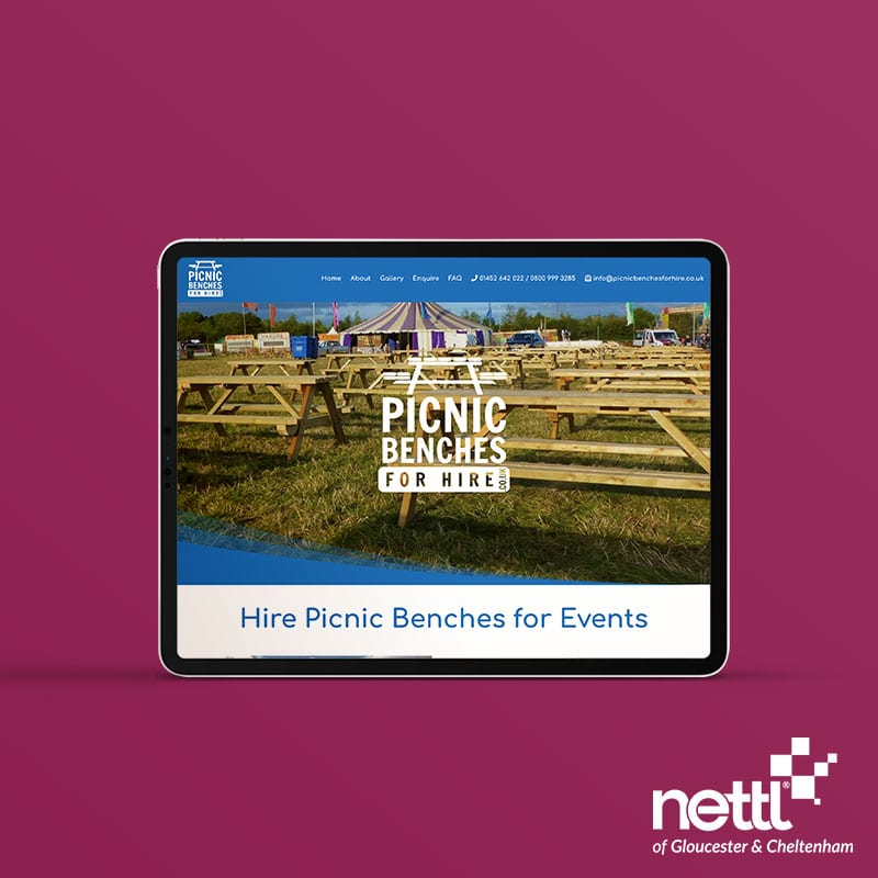 Picnic Benches for Hire - Pay Monthly