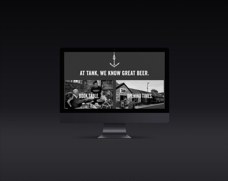 Tank Gloucester Website, Tank Bar & Restaurant, Nettl of Gloucester & Cheltenham
