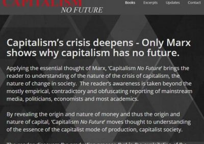 Capitalism No Future