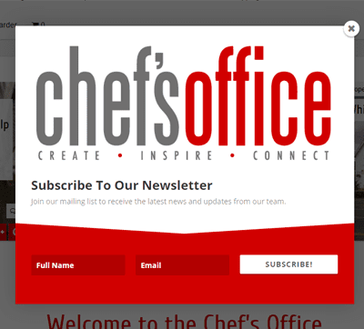 Chef's Office